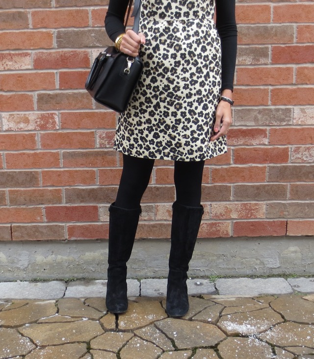 suede boots leopard kate spade