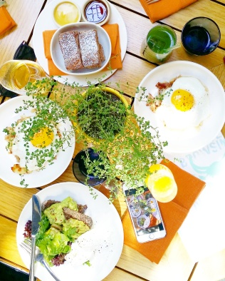 brunch avocado toast pancakes duch hash new york city