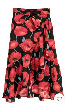 Red Black Floral 4